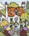 Mini Myrtle Cottage stitched