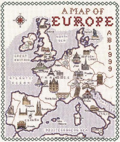 CE036 Карта Европы