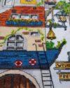 Творческий домик набор для вышивания