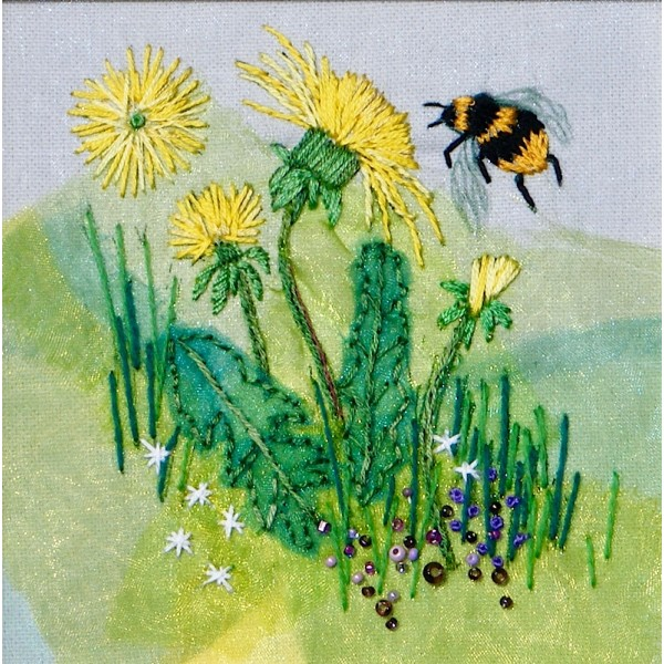 Dandelion and Bumblebee web-600×600