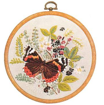 E150 Red Admiral Butterfly