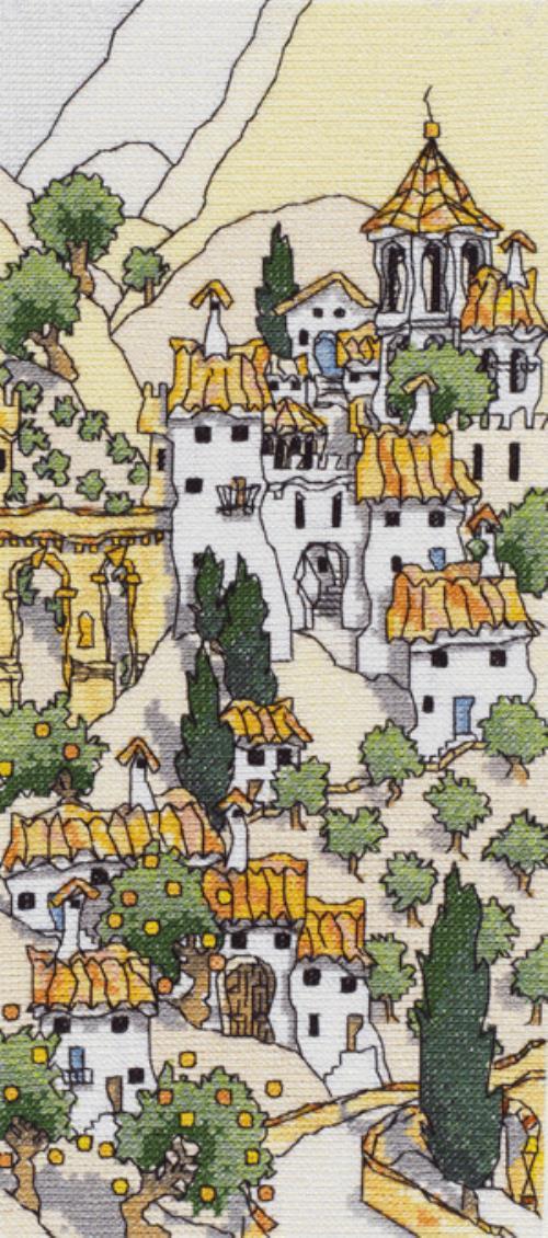 Spanish Hill Town II