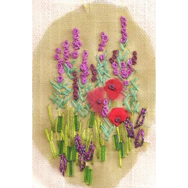 wallflowers and poppies